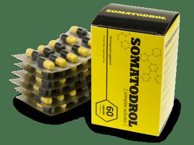 doplnok stravy Somatodrol ako funguje, recenzie, výrobca, lekáreň